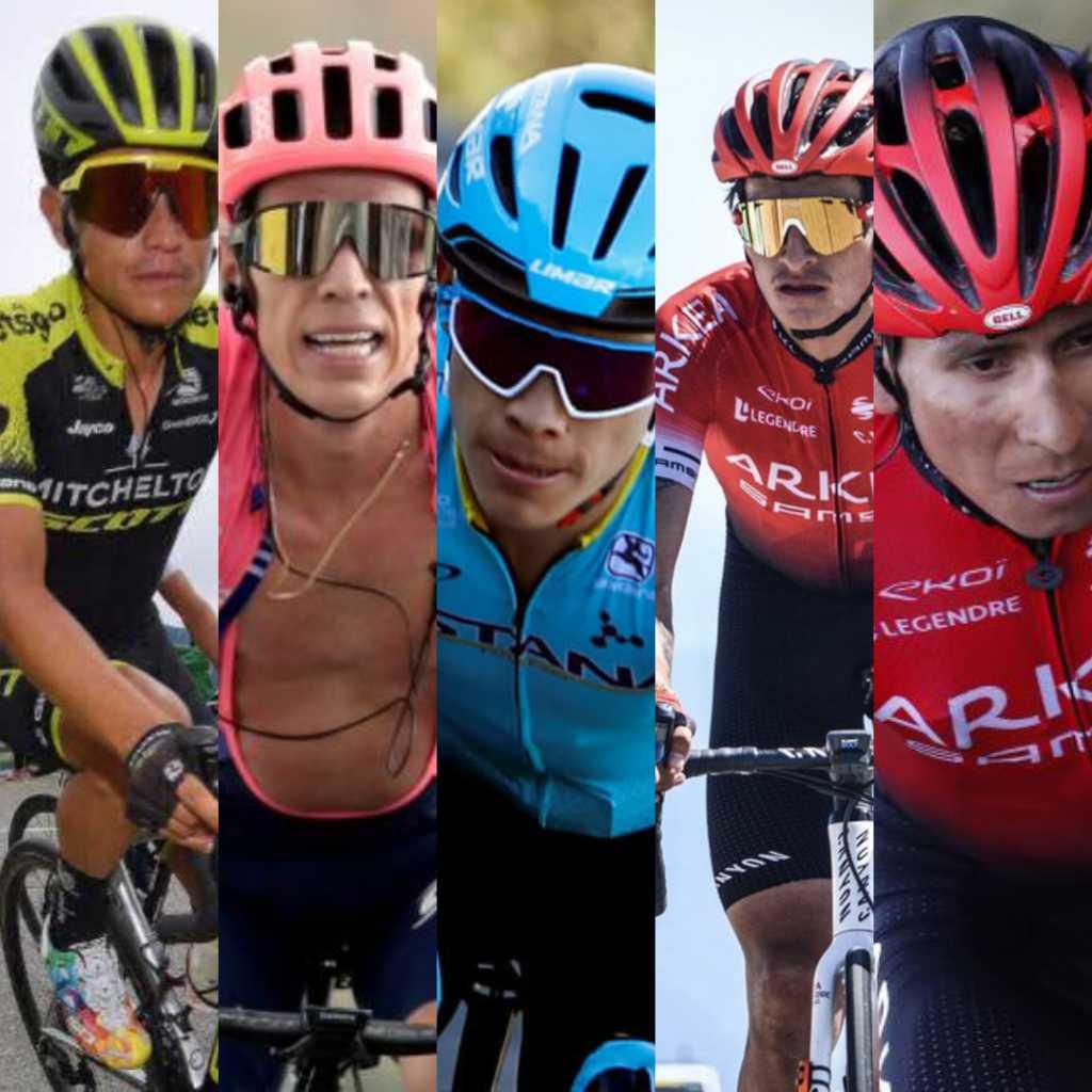 Falcao mensaje ciclistas colombianos Tour de Francia 2020