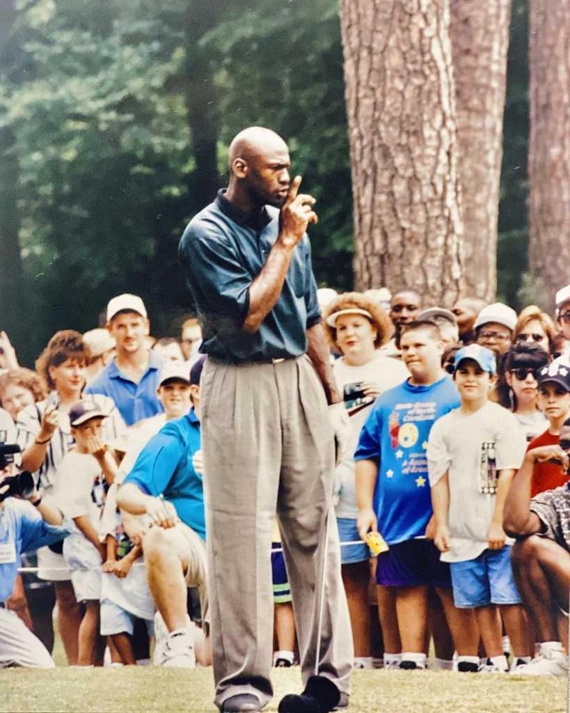 Michael Jordan entrenador NBA