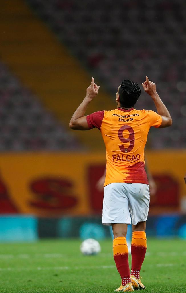 Falcao García Galatasaray récord