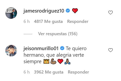 Arturo Vidal James Rodríguez mensaje Colombia Chile