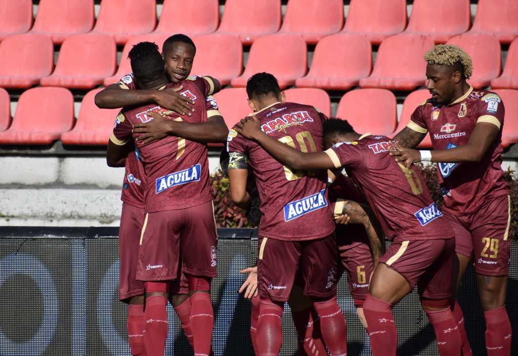 Deportes Tolima en la Liga BetPlay. Foto: Dimayor