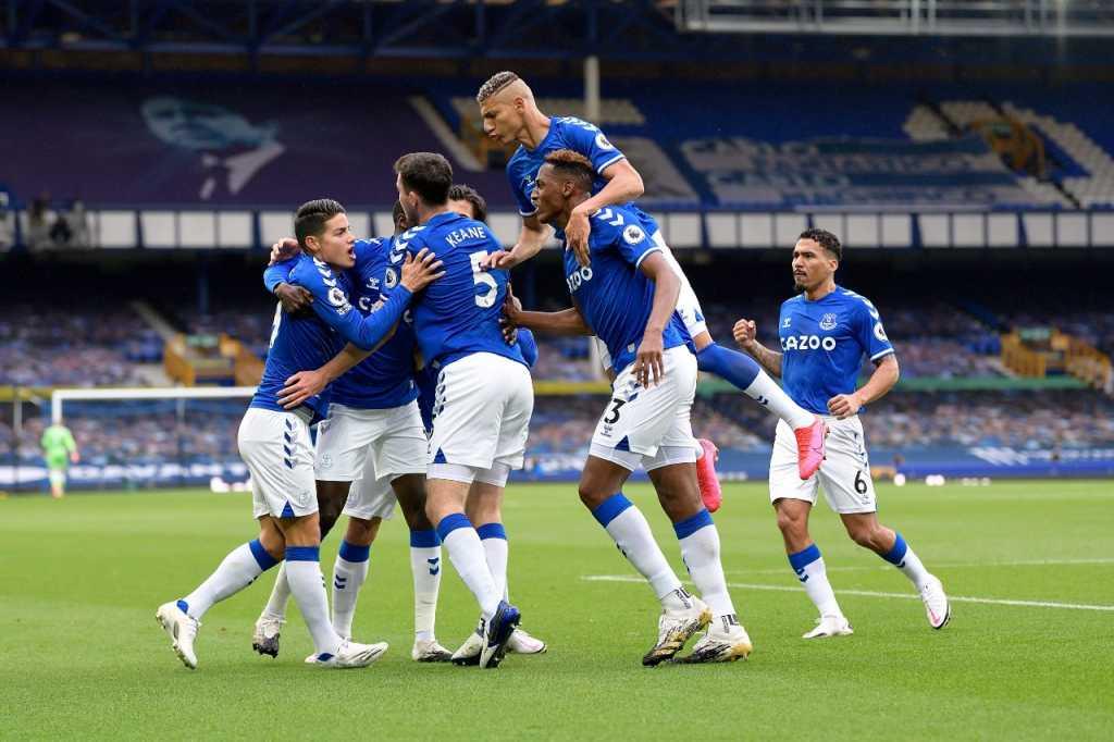 Everton gol Calvert Lewin
