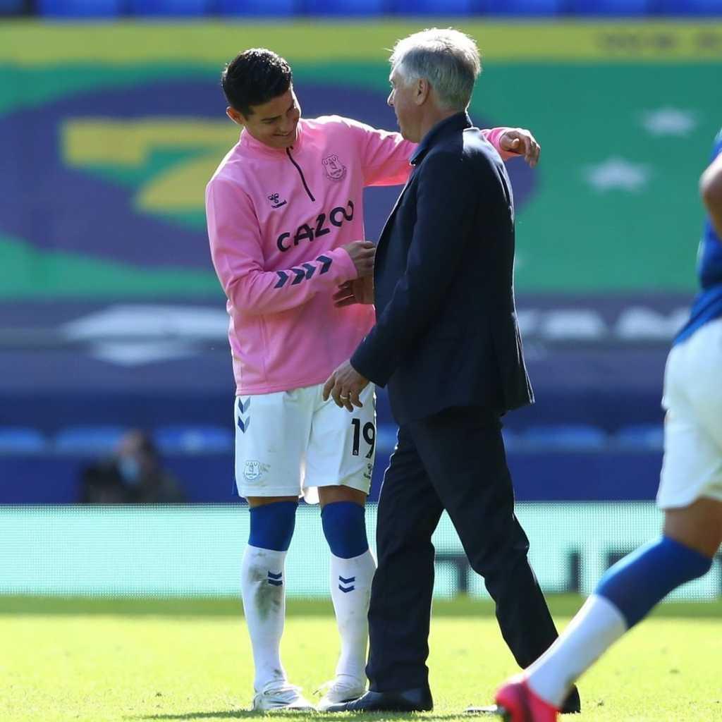 Carlo Ancelotti Selección Colombia