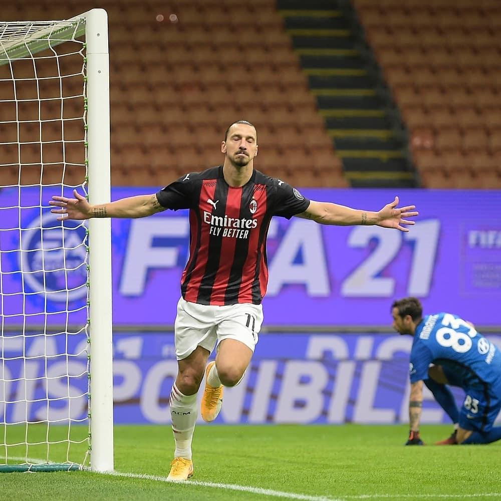 Zlatan golazo Napoli Milan