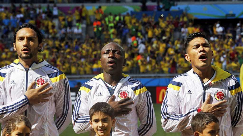 Pablo Armero con la Selección Colomba. Foto: FCF