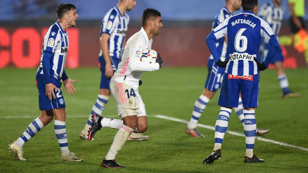 Real Madrid Gol Alavés