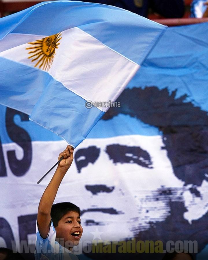 Maradona periodistas en vivo