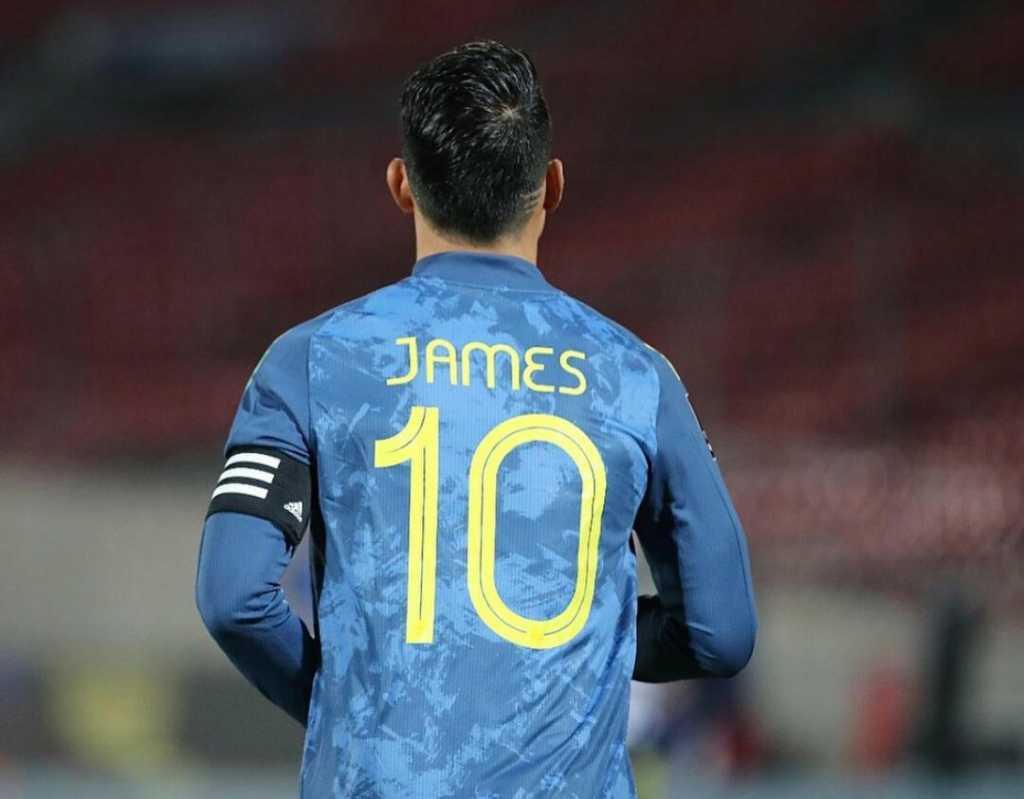 James Rodríguez Everton