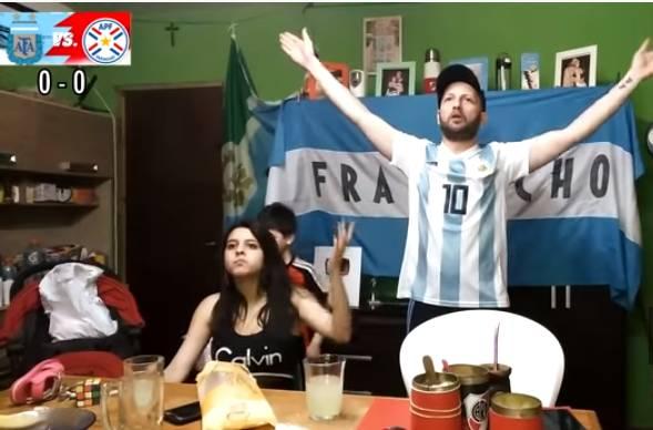 Hinchas Argentinos reaccionado al partido