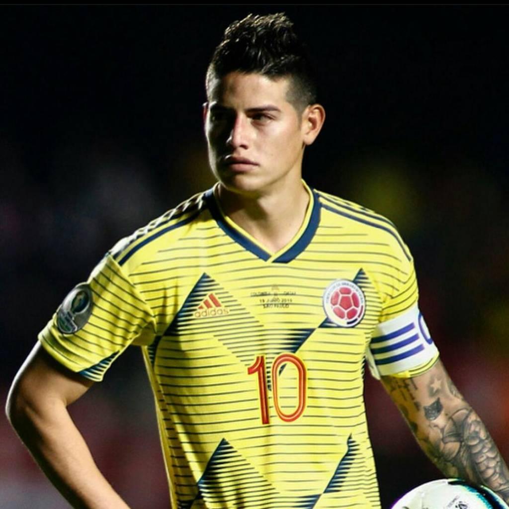 Luis Fernando Montoya James Rodríguez Selección Colombia