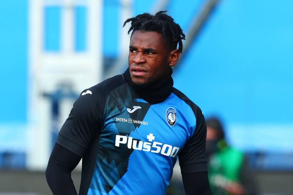 Duván Zapata récord último gol con Atalanta en la Serie A