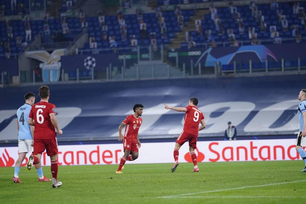 Lazio insólito autogol ante Bayern en Champions League foto