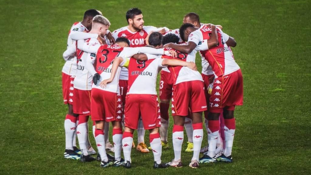 PSG 2 golazos de Mónaco en la Liga de Francia foto