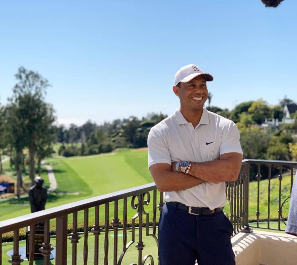 Tiger Woods accidente de tránsito golf