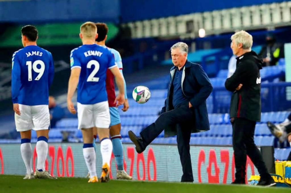 Ancelotti preocupa James rodríguez con palabras Everton