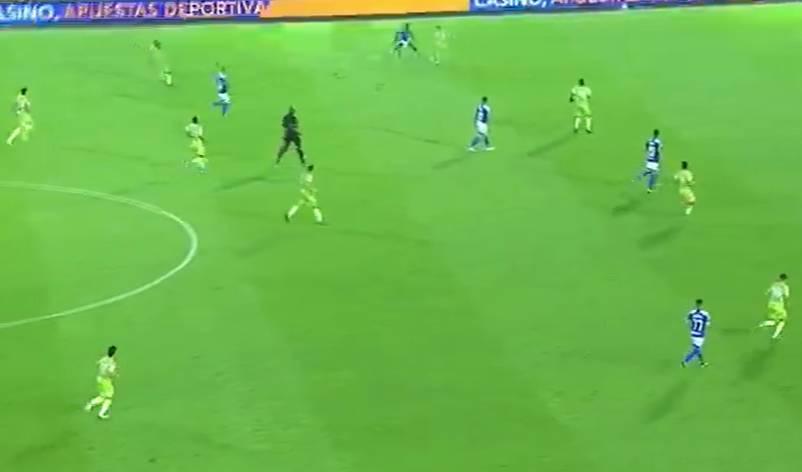 Jaguares gol Millonarios Liga BetPlay