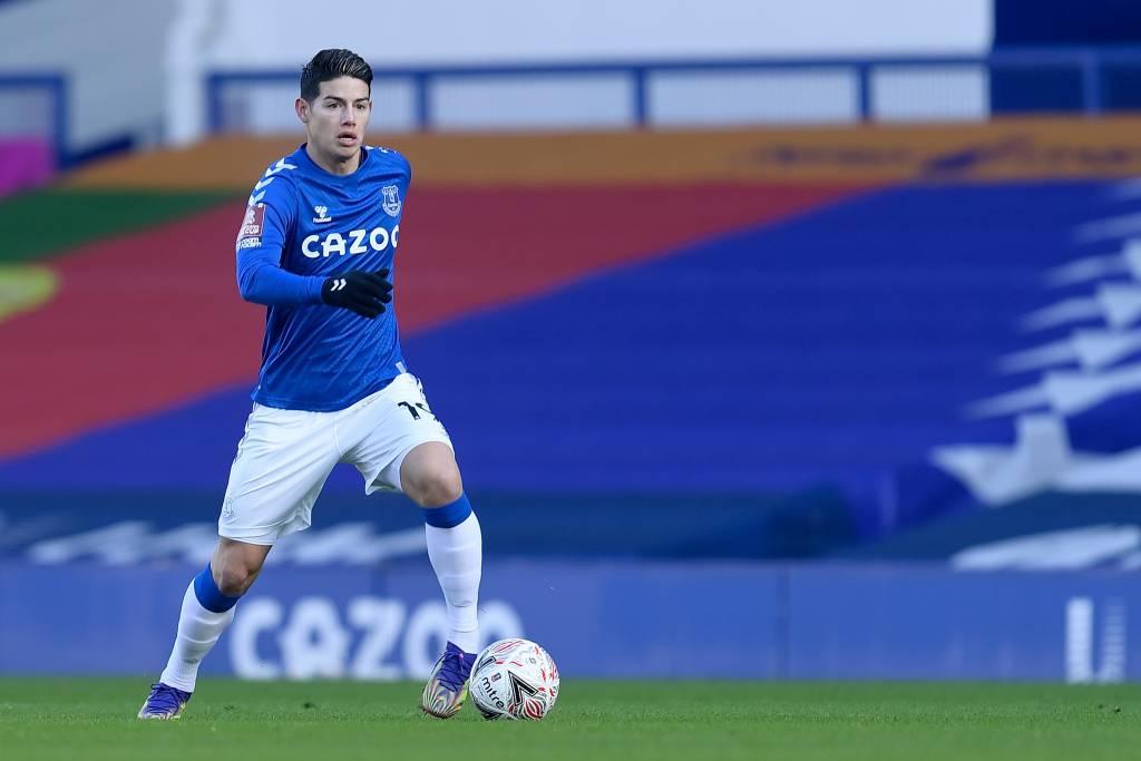 Carlos Antonio Vélez pordebajea nivel de James Rodríguez en el Everton