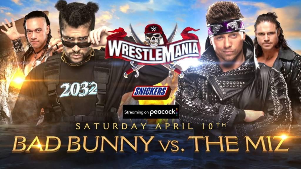 WWE carteleras fecha Wrestlemania 37