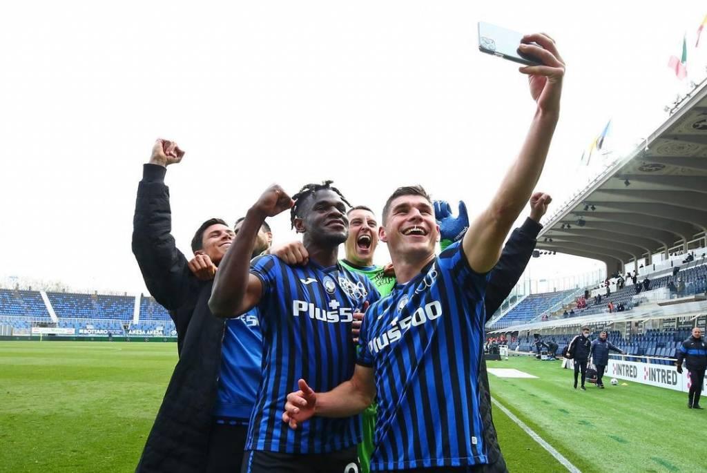 Duván Zapata calificación Atalanta Juventus
