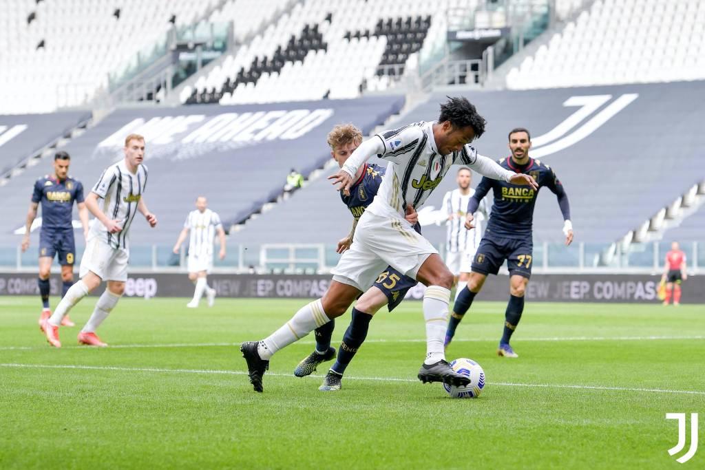 Juan Cuadrado supera asistidor a Pirlo Juventus 2