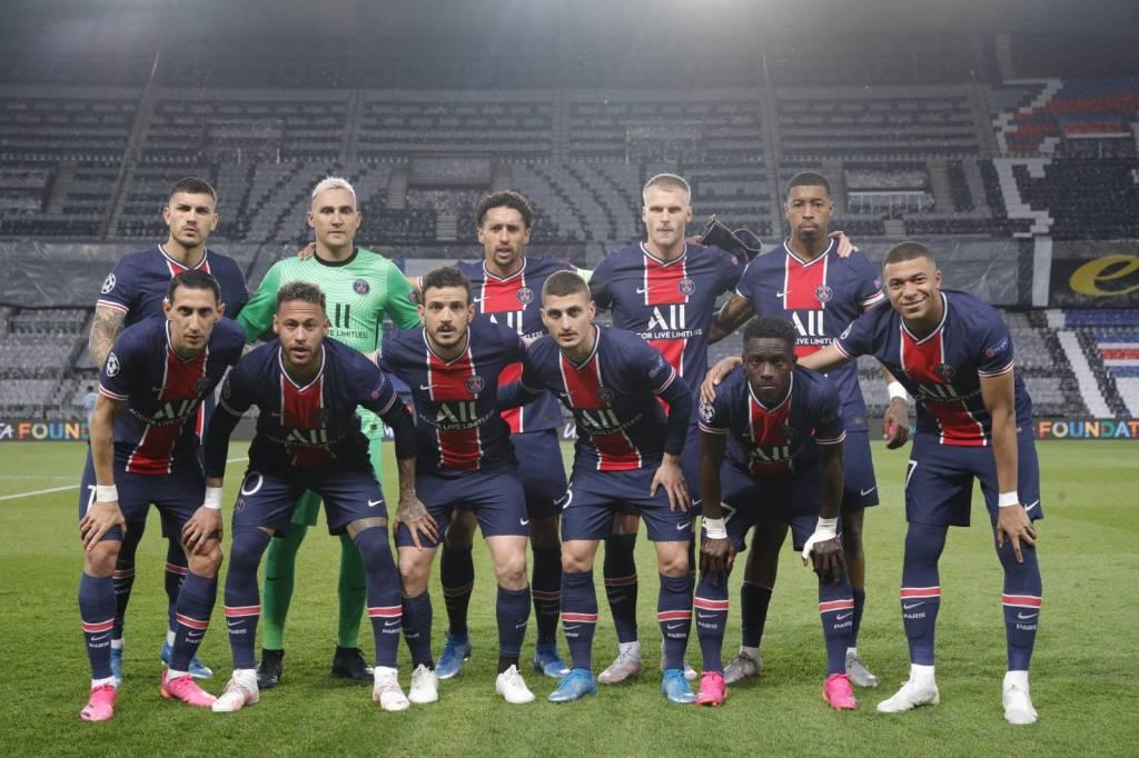 París Saint Germain gol Marquiños Manchester City Champions League