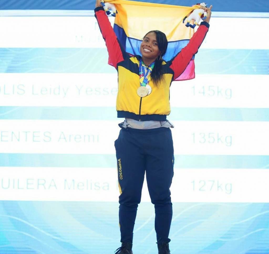 Colombia Panamericano de Pesas 2021