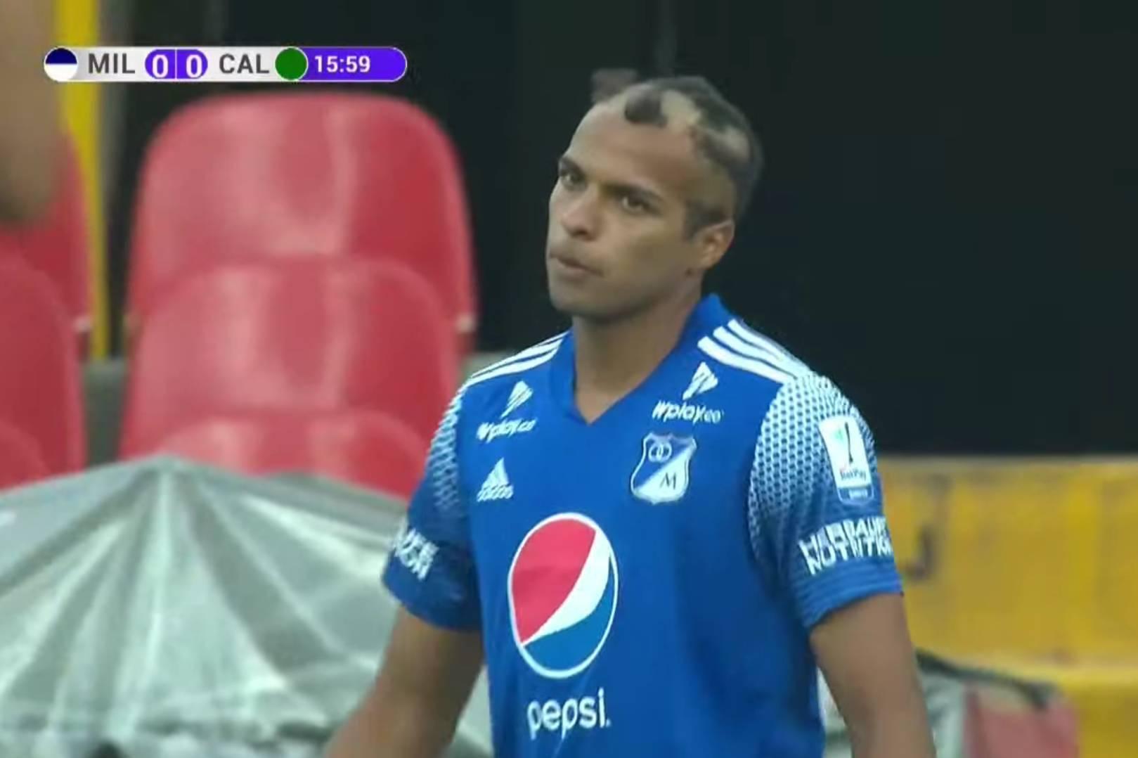 Millonarios Ricardo Rosales corte de cabello Deportivo Cali