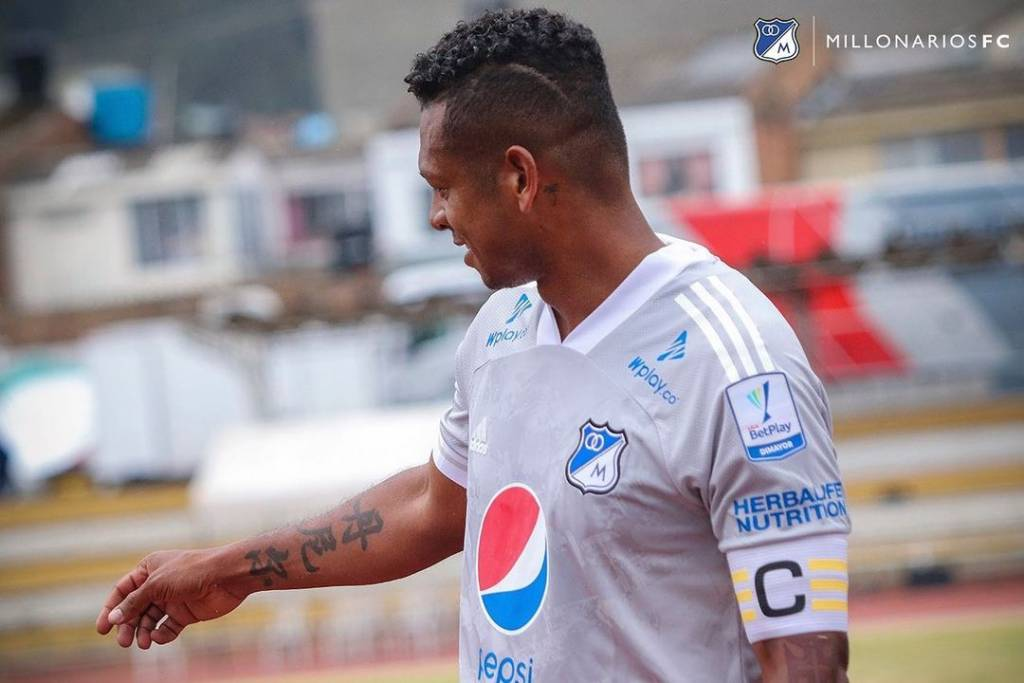 Fredy Guarín medio colombiano Millonarios