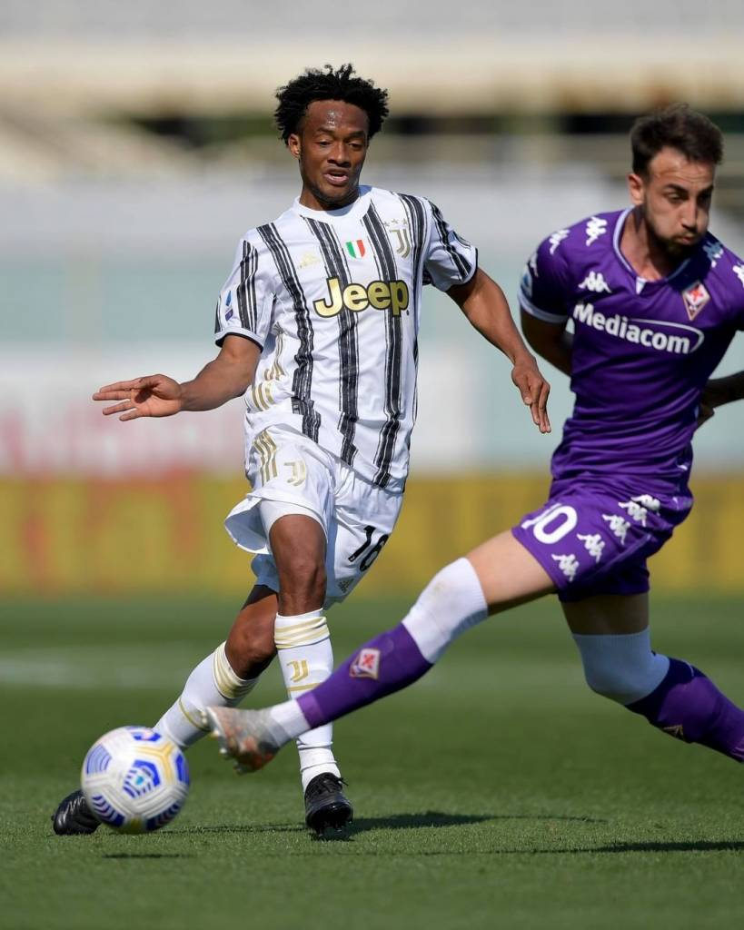 Juan Guillermo Cuadrado prensa italiana Juventus