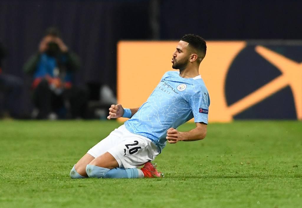 Así fue el gol de Mahrez con el que Manchester City toma ventaja sobre París Saint Germain