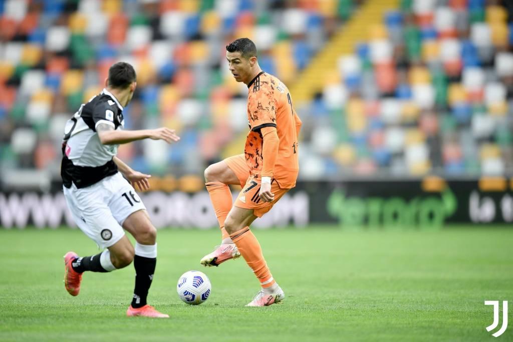 Cristiano Ronaldo marca doblete y pone el 2 por 1 en el Juventus Udinese