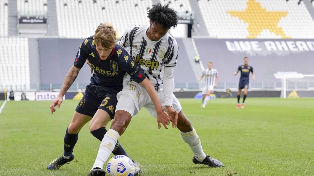 Juan Cuadrado recibe estas palabras por su protagonismo en el Juventus Udinese