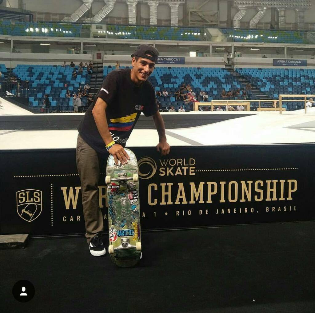 Jhancarlos González campeonato mundial de skateboarding modalidad street