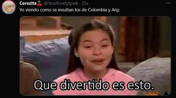 Memes partido Colombia Argentina eliminatorias
