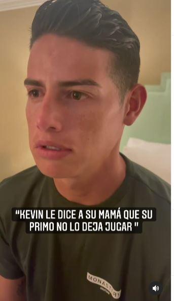 James Rodríguez y el video con el Mindo que se hace viral en redes sociales ok