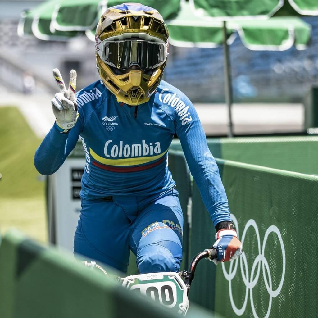 Mariana Pajón medalla de plata Juegos Olímpicos de Tokio 2020