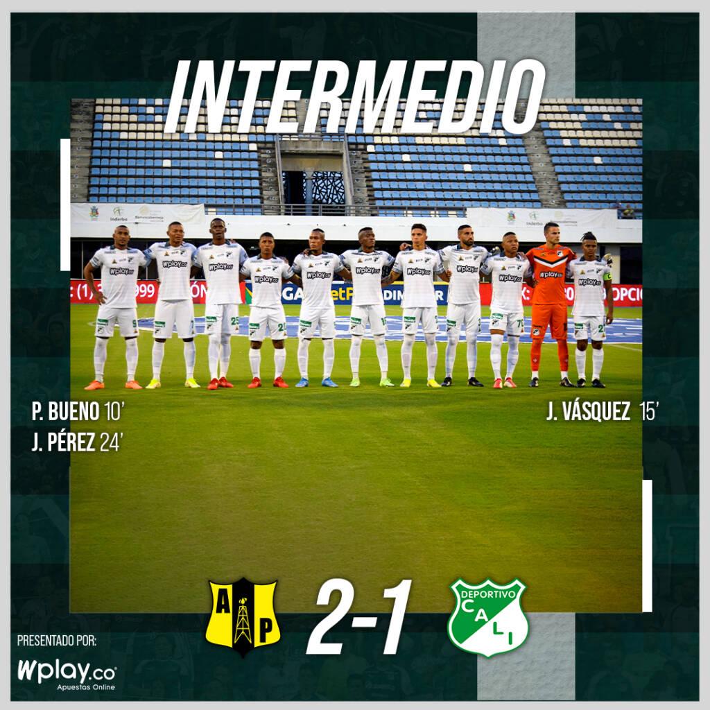 Alianza Petrolera Jhon Freddy Pérez  Deportivo Cali Liga betPlay